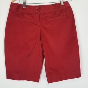 """The limited red drew fit shorts 11"""" inseam size 4"""